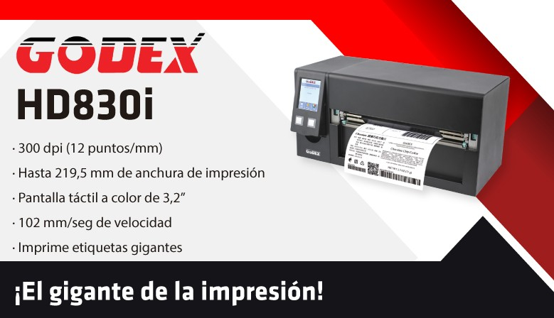 Godex hd830i
